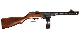 PPSh-41 - PPSh-41 with drum magazine