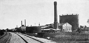 Pacific Gas and Electric Company - Pacific Gas and Electric Company plant in Sacramento, 1912