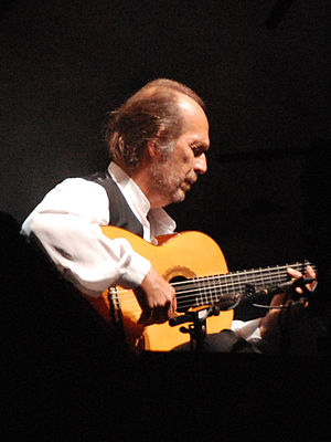 Paco de Lucía at the PLAI Festival in Timişoar...