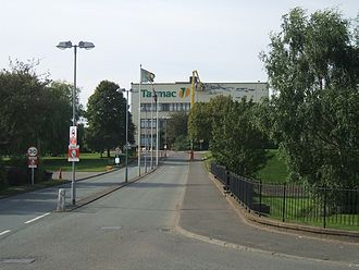 Tarmac Group - Original Tarmac Head office and depot in Ettingshall