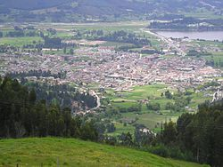 View of Paipa