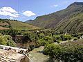 Paisatge al districte de Mariscal Castilla amb el riu Utcubamba.jpg