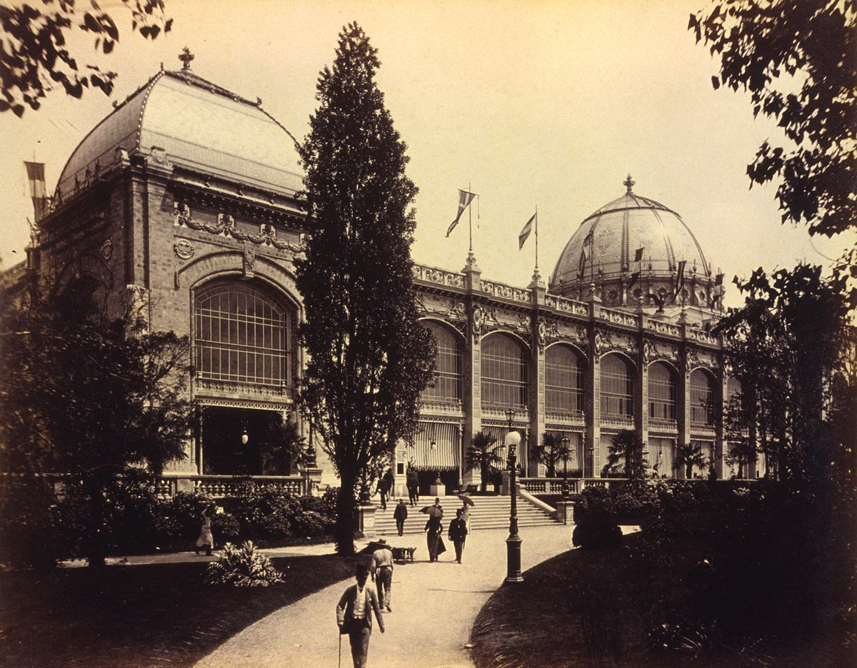 Palace of Fine Arts, Paris Exposition, 1889.jpg