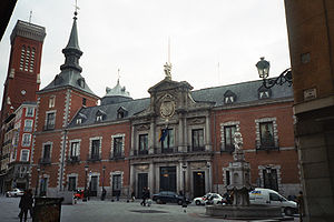 Palacio de Santa Cruz (Madrid), Spanish Minist...