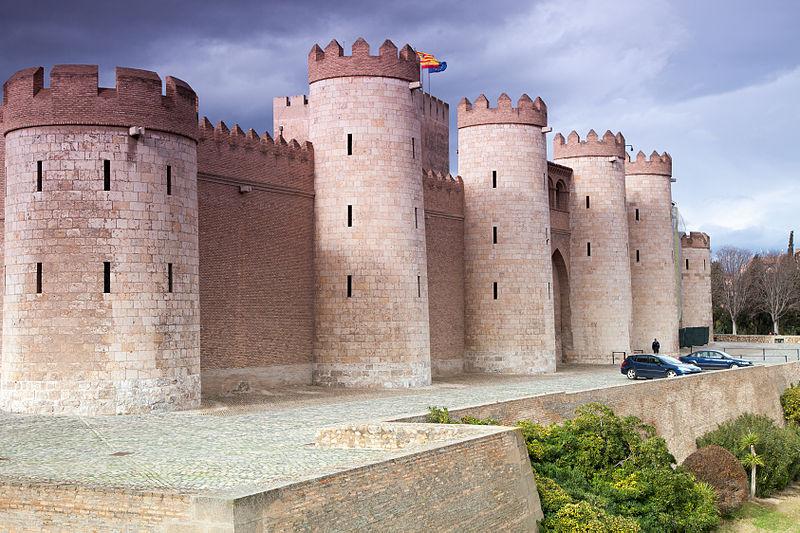 File:Palacio de la Aljafería Zaragoza.jpg