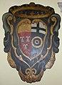 Palazzo frescobaldi, passaggio 04, stemma frescobaldi e albizi.JPG