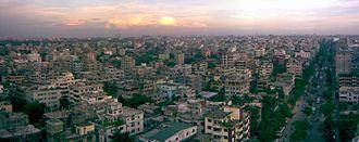 Mirpur Model Thana - Panoramic view of Mirpur
