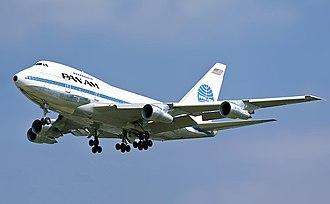 Boeing 747SP - Boeing 747SP of launch customer Pan American World Airways at London Heathrow Airport in 1978