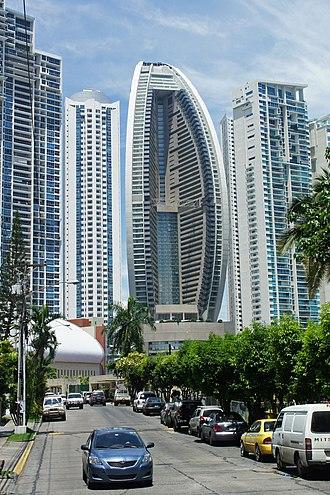 JW Marriott Panama - Image: Panama 08 2013 Trump Ocean Tower 7086