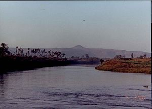 Kolhapur -  The Panchganga river at Kolhapur