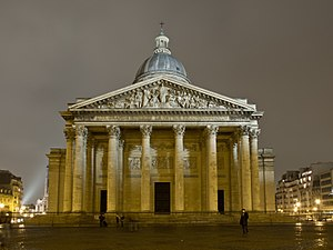 Genevieve - The Panthéon, Paris