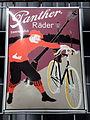 Panther Räder, Unverwüstlich, enamel advertising sign.JPG