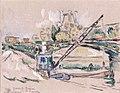 Paris, le pont des Saints-Pères by Paul Signac.jpg