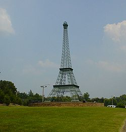 The Eiffel Tower of Paris, Tennessee