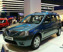 O Dacia Logan, o mais famoso dos automóveis mais 'baixo custo'.