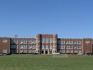 Parkersburg High School–Washington Avenue Historic District - Parkersburg High School, October 2006