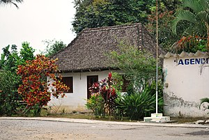 French Mexicans - French home in Paso de Telaya, San Rafael, Veracruz.