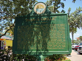 Pass-a-Grille - Pass-a-Grille sign
