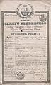 Paszport wystawiony przez wladze miasta Krakowa dla Rajmunda Skorzewskiego.jpg