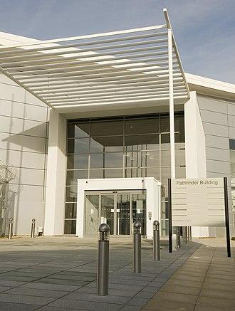 Defence Intelligence - The Pathfinder Building at RAF Wyton