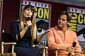 Patty Jenkins & Chris Pine at the 2018 Comic-Con International 2.jpg