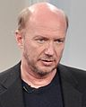 Paul Haggis with moderator at Canadian Film Centre masterclass (November 7, 2011) - 2 cropped.jpg