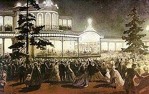 Tsarskoye Selo Railway - Ball in Pavlovsk on the occasion of 25th anniversary of the Tsarskoye Selo Railways