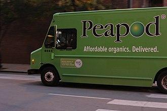 Peapod - A Peapod delivery truck in Chicago