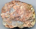 Pegmatitic granite (alaskite) (Mt. Evans Batholith, Mesoproterozoic, 1.44 Ga; near summit of Mt. Evans, central Colorado, USA) (16745286011).jpg