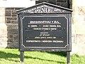 Peniel Chapel, information board - geograph.org.uk - 658057.jpg