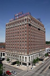 Peoria Marriott Pere Marquette United States historic place