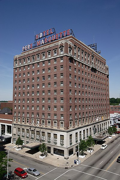Pere Marquette Hotel - File:Pere Marquette Hotel.JPG - Wikimedia Commons - Feb 8, 2015 ... This is an image of a place or building that is listed on the National Register of   Historic Places in the United States of America. Its reference ...