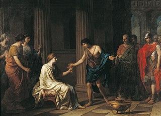 Mort de Sophonisbe