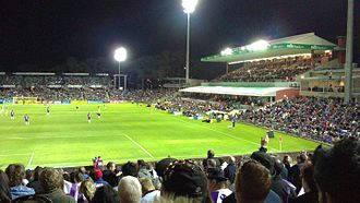Perth Oval - Image: Perth Glory v North Queensland Fury