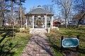 Petőfi square, Kübekháza, music pavilion.jpg