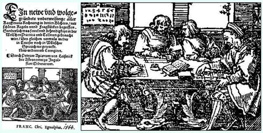 Peter Apian 1544