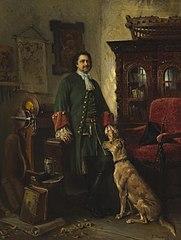 Peter the Great in His Studio