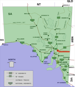 Peterborough location map in South Australia.PNG