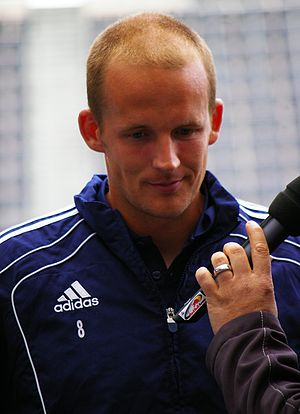 Petri Pasanen - Pasanen with Red Bull Salzburg in July 2011
