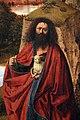 Petrus christus (attr.), san giovanni battista in un paesaggio, 1440 ca. 03.jpg