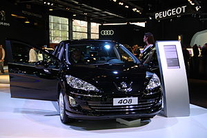 Peugeot 408 - Peugeot 408 Sport at 2011 Buenos Aires Motor Show