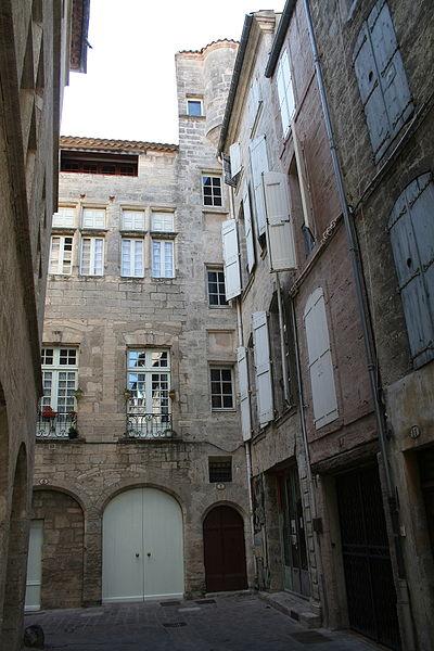 Pézenas (Hérault) - rue des Orfèvres.