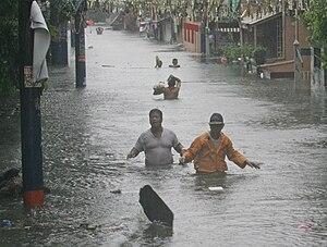 Typhoon Morakot - Flooding in the Philippines