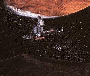 Phobos 1 - Image: Phobos Marte