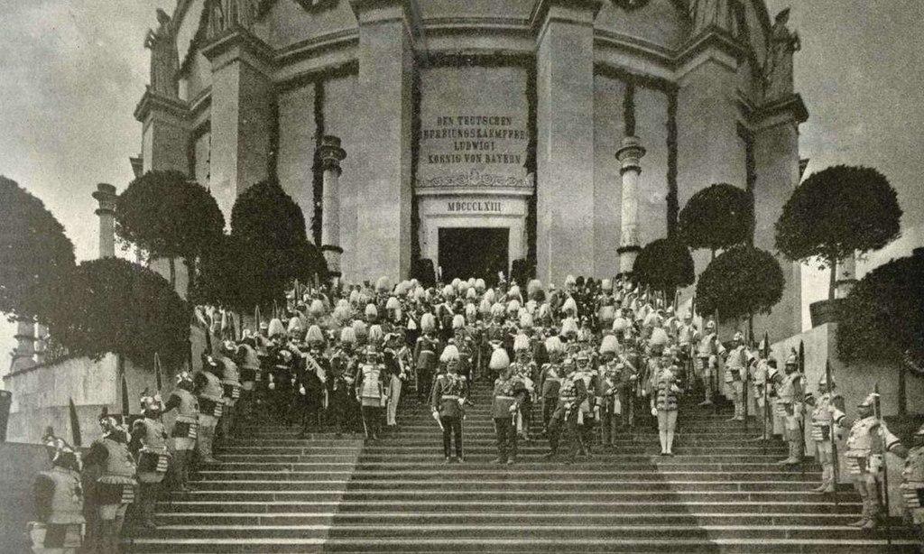 Photo - Kelheim - Befreiungshalle - Kaiser und Prinzregent - 1913.jpg