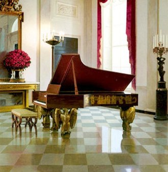 Piano - Steinway grand piano in the White House
