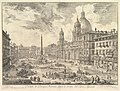Piazza Navona with S. Agnese on the Right MET DP828313.jpg