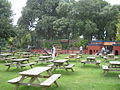 Picnic area at Paradise Park wildlife sanctuary - geograph.org.uk - 902797.jpg