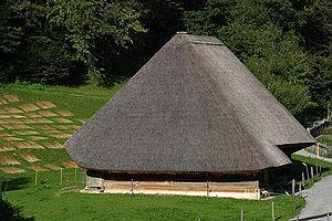 Hofstetten bei Brienz - One of the representative buildings at the Schweizerisches Freilichtmuseum Ballenberg