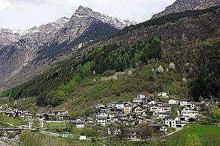 Mesocco,  Grisons, Switzerland